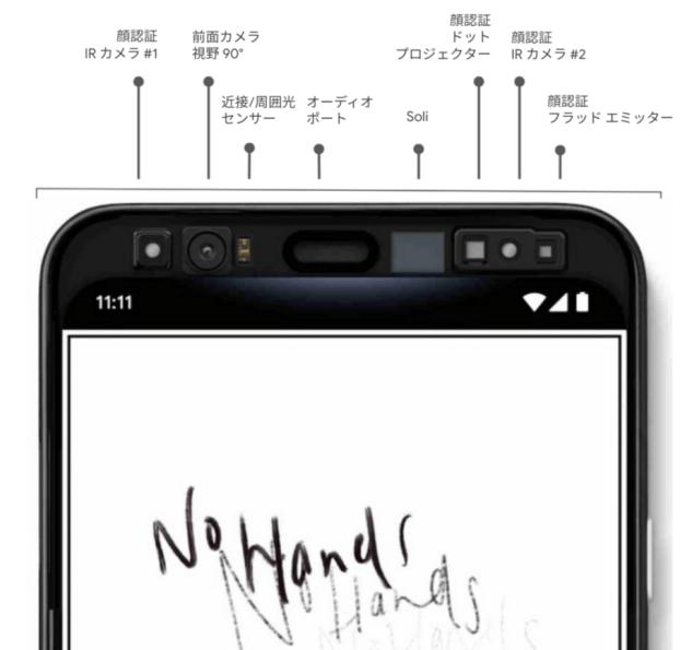 Google добавил датчики движения в Pixel (pixel 4 japan assistant soli 1)