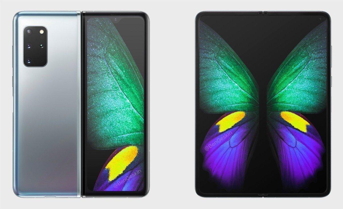 Samsung готовится к запуску Galaxy Fold 2, уже стали известны некоторые характеристики камеры (samsung galaxy fold 2 concept)