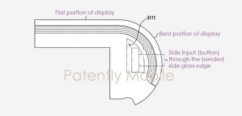 Вероятно, Galaxy Note 20 получит ультра-изогнутый экран (samsung patent sketch 1)