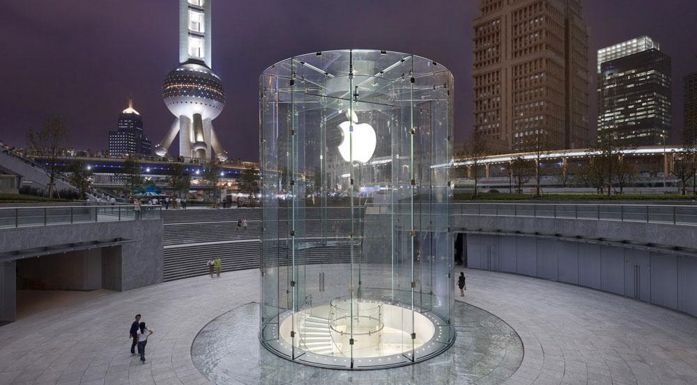 Apple закрыла все магазины и офисы в Китае до 9 февраля из-за коронавируса (shanghai apple store)