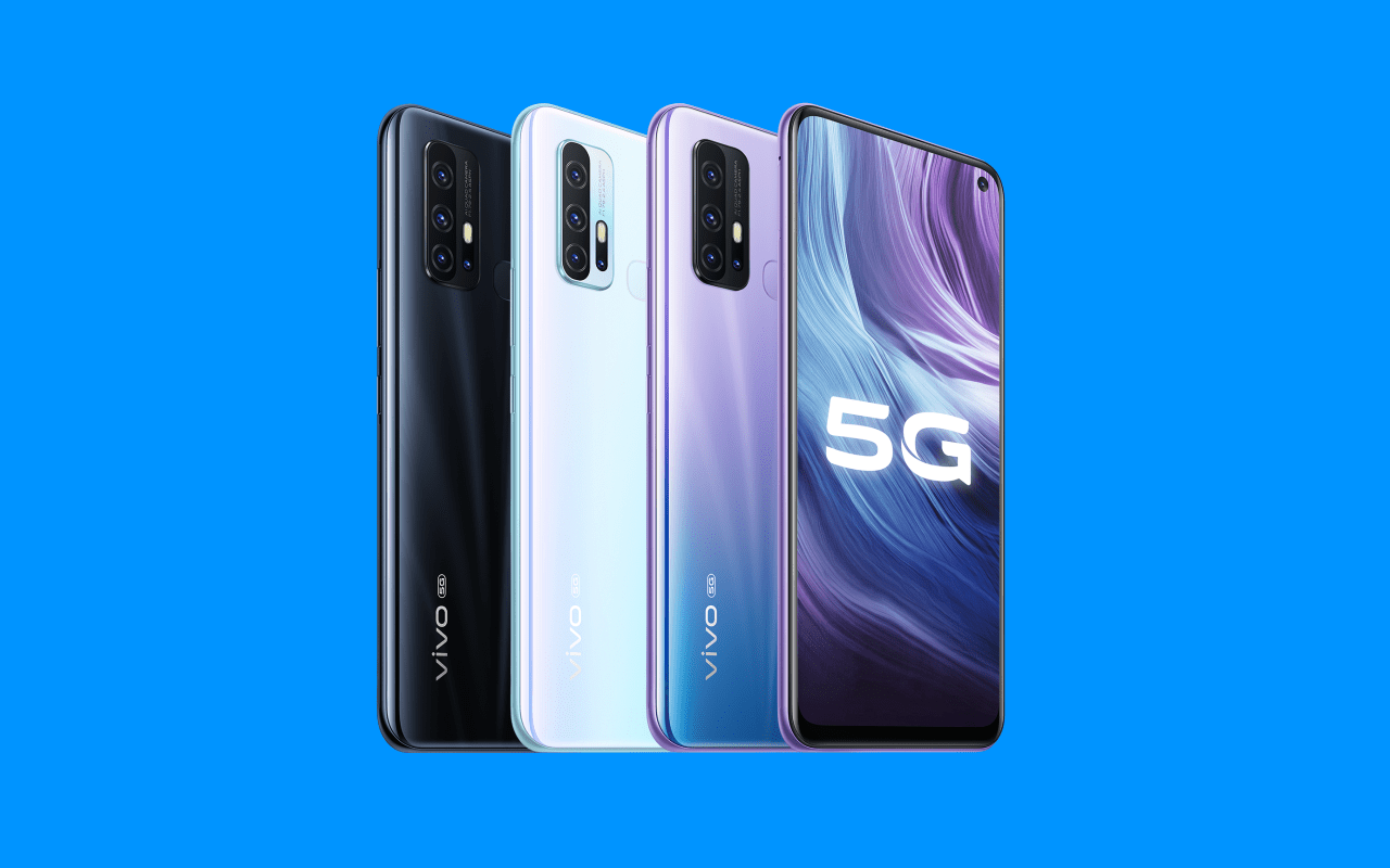 Смартфон Vivo Z6 5G полностью рассекречен (vivo z6 5g press renders)