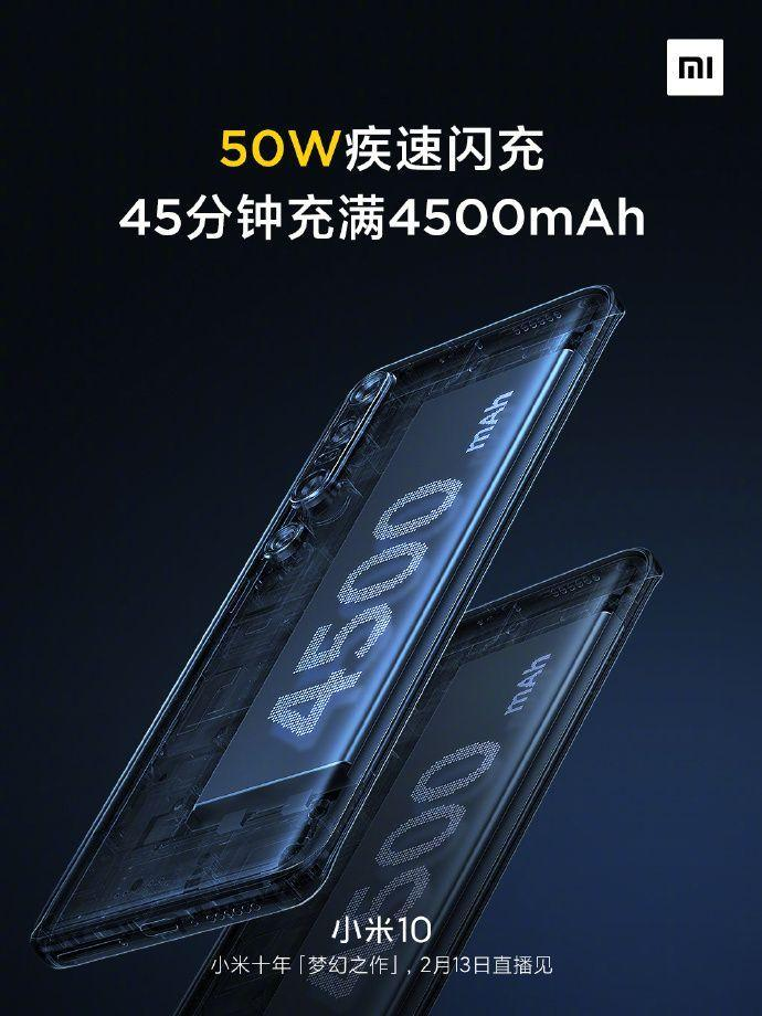 Xiaomi рассказала об особенностях аккумулятора Xiaomi Mi 10 (xiaomi mi 10 battery)