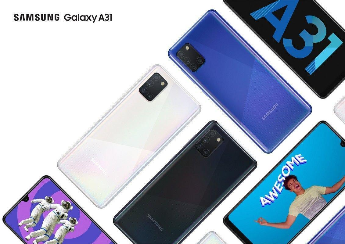 Galaxy A31 признакам