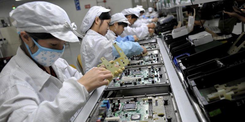 Foxconn возобновляет производство iPhone 9 (104859991 foxconn factory)