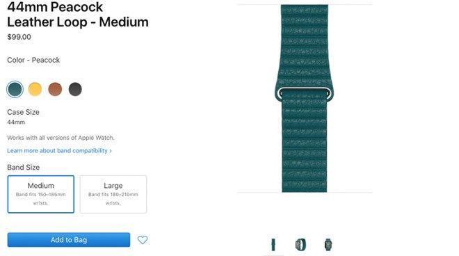 Apple выпустила акессуары для Apple Watch и iPhone в весенних цветах (34980 63591 peacock l)
