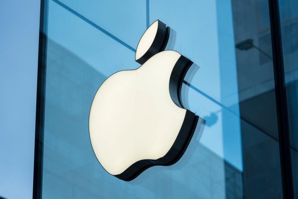 Поставки Apple iPhone задержатся на несколько месяцев (apple logo blue)