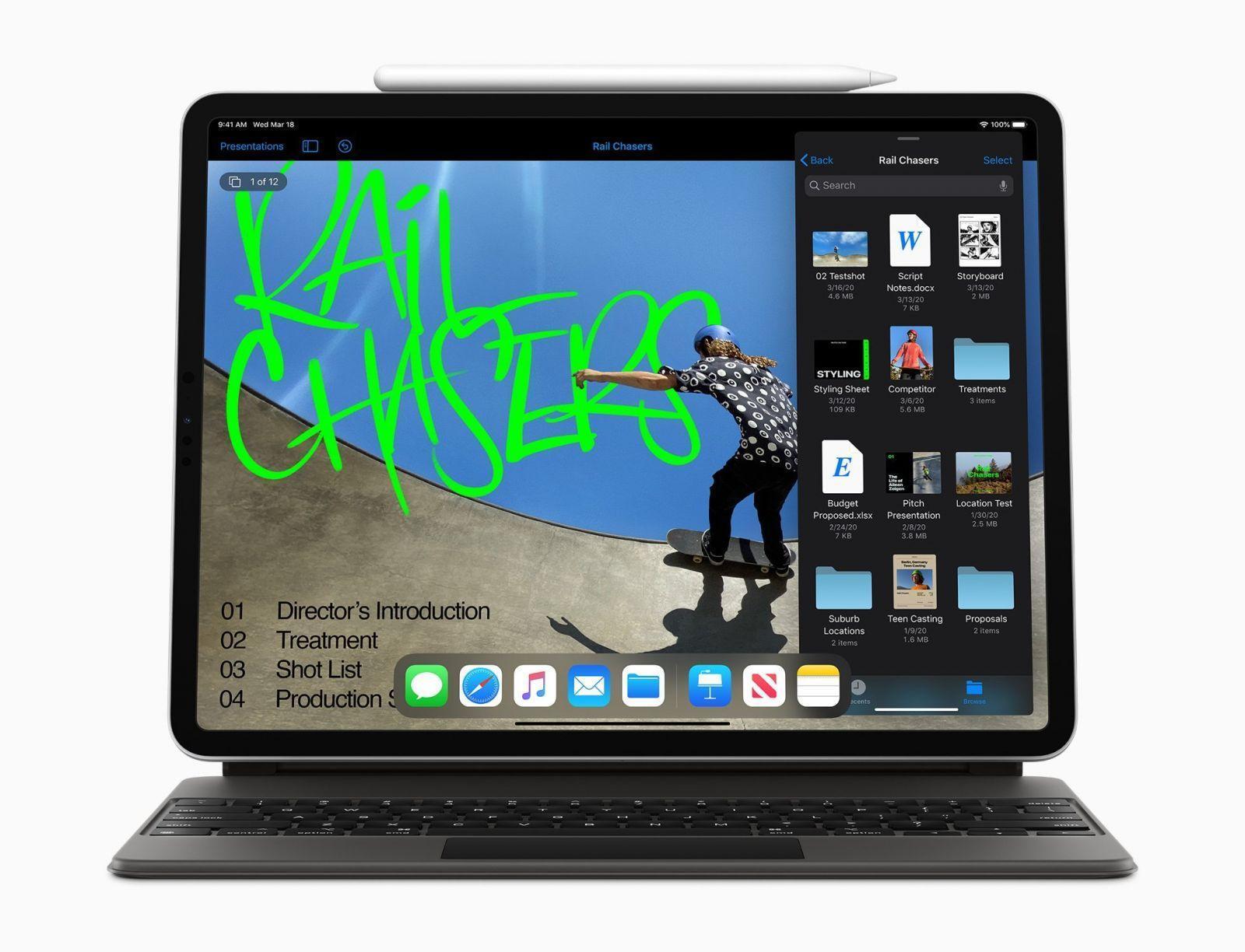 7 причин перейти на продукты Apple (apple new ipad pro apple pencil and smart keyboard folio 03182020)