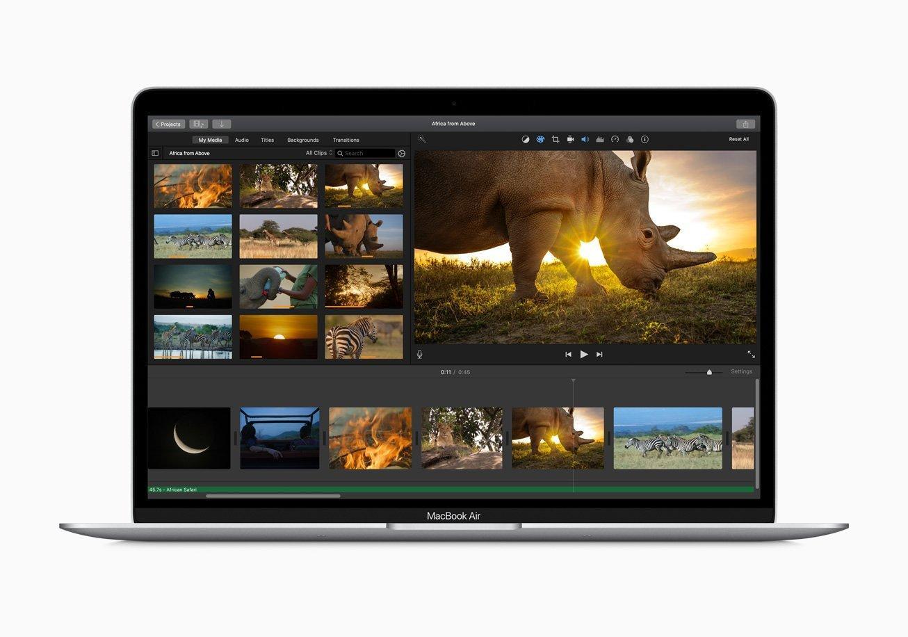 Apple выпустила новый MacBook Air и Mac mini (apple new macbook air performance 03182020)