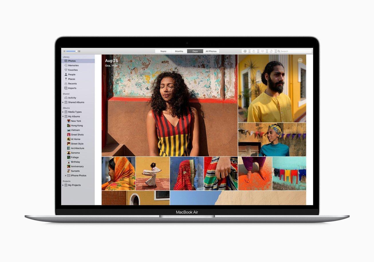 Apple выпустила новый MacBook Air и Mac mini (apple new macbook air storage photo screen 03182020)