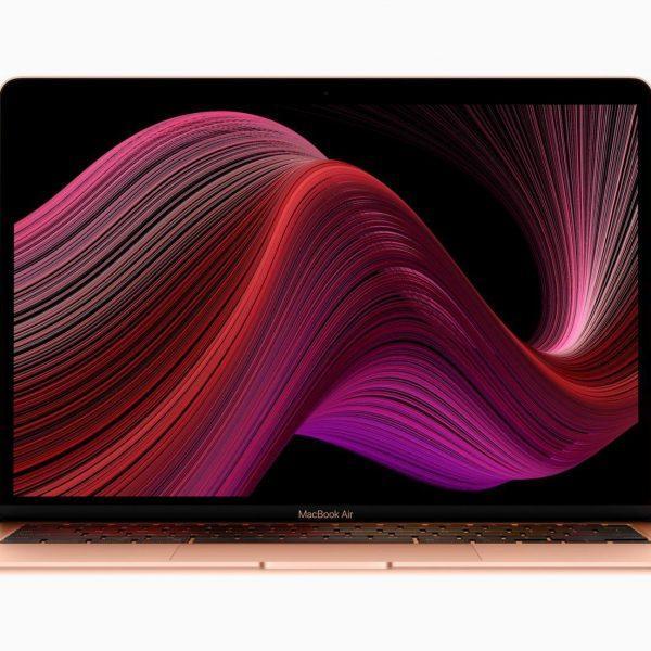 Apple выпустила новый MacBook Air и Mac mini (apple new macbook air wallpaper screen 03182020)