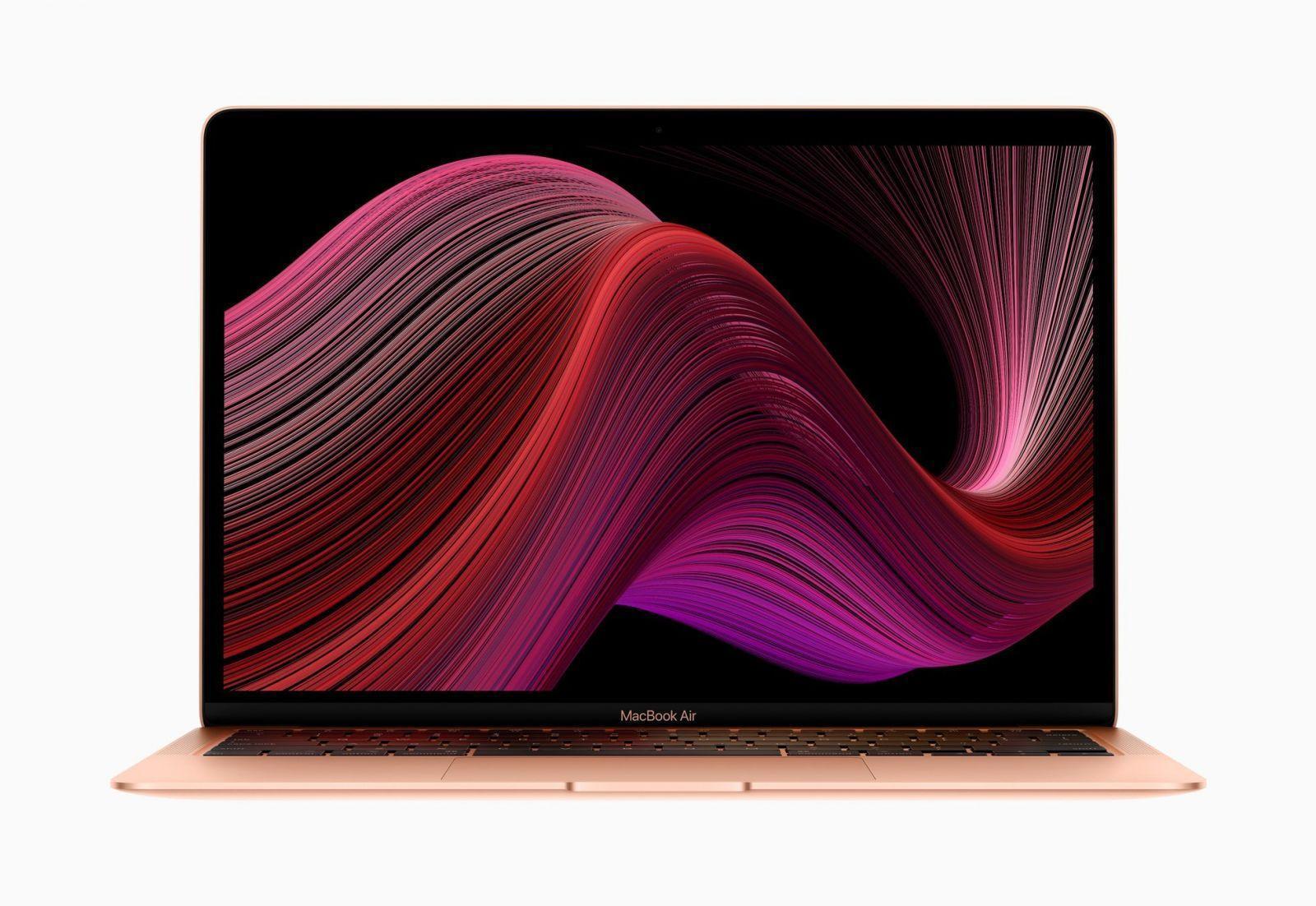 Apple выпустила новый MacBook Air и Mac mini (apple new macbook air wallpaper)