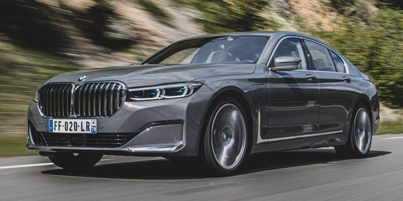 BMW выпустит электрокар в следующей линейке авто (bmw 7 series 12)