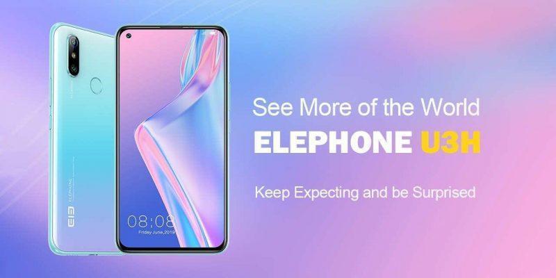 Компания Elephone выпускает смартфон Elephone U3H (elephone u3h)