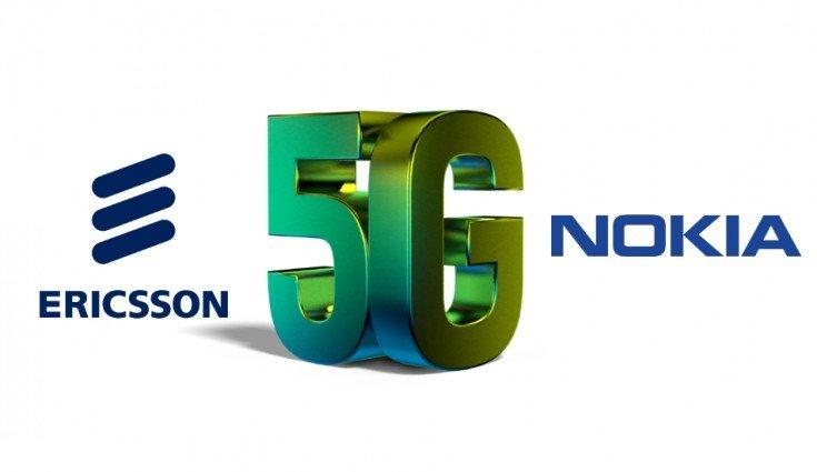 Слухи: Nokia и Ericsson могут объединиться в ближайшем будущем (ericsson nokia 5g 425 735)