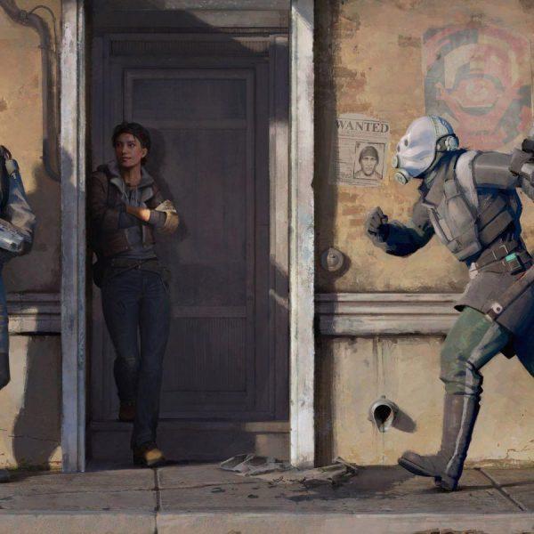 Half-Life: Alyx смогли запустить без VR (half life alyx painting)