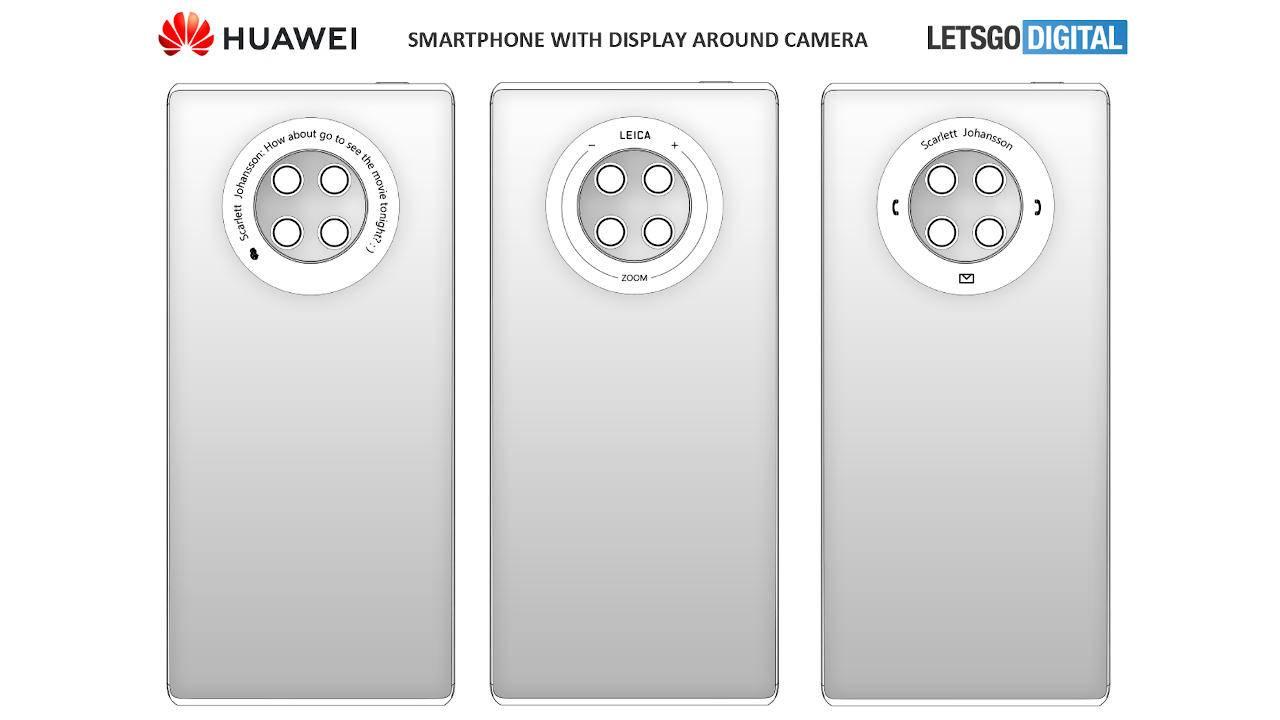 Кольцо камеры Huawei Mate 40 может быть многофункциональным сенсорным экраном (huawei mate 40 1280x720 1)