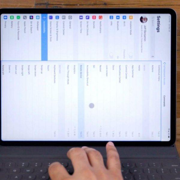 Apple выпустила iOS и iPadOS 13.4 с поддержкой трекпада (ipados 13.4 keyboard control scaled 1)