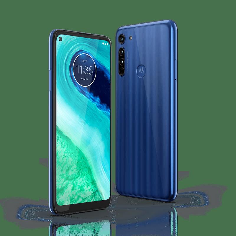 Moto G8 Neon Blue