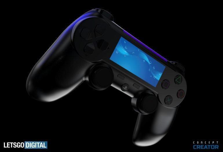 Sony PlayStation 5 показалась на рендерах (nieuw design ps5 controller 770x524 1)