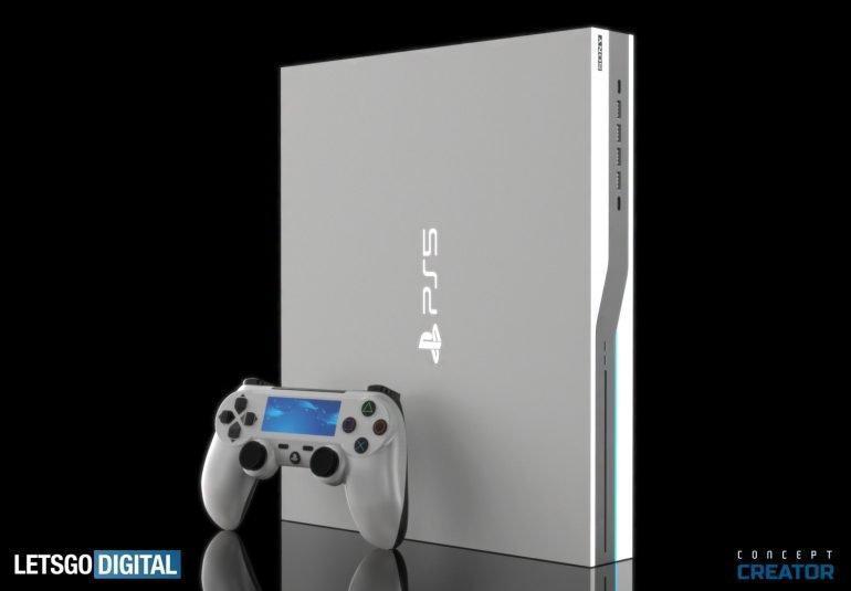 Sony PlayStation 5 показалась на рендерах (nieuwe console sony ps5 770x535 1)