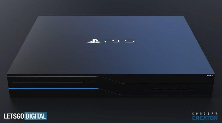 Sony PlayStation 5 показалась на рендерах (ps5 console 770x428 1)