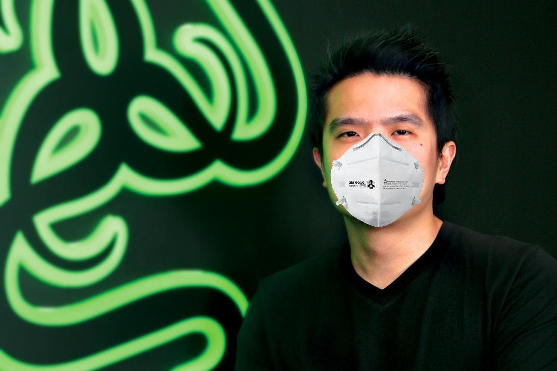 Razer планирует производить маски, чтобы защитить людей от коронавируса (razer min liang tan 1)