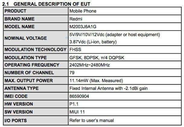 Официально: Redmi Note 9 Pro получит мощную батарею и быструю 30-ваттную зарядку (redmi note 9 fcc 3)