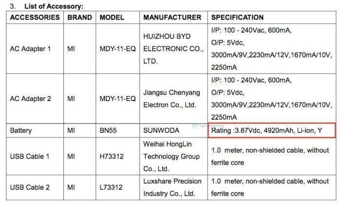 Официально: Redmi Note 9 Pro получит мощную батарею и быструю 30-ваттную зарядку (redmi note 9 fcc)