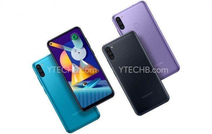 В Сеть просочились рендеры и характеристики смартфона Samsung Galaxy M11 (samsung galaxy m11 color variants)