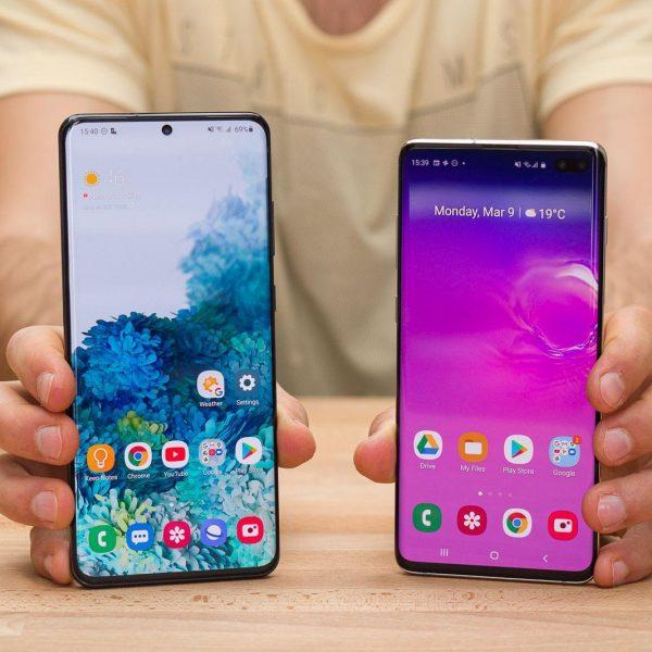 Смартфоны Samsung Galaxy S20 поступили в продажу в России (samsung galaxy s20 ultra vs galaxy s10 plus)