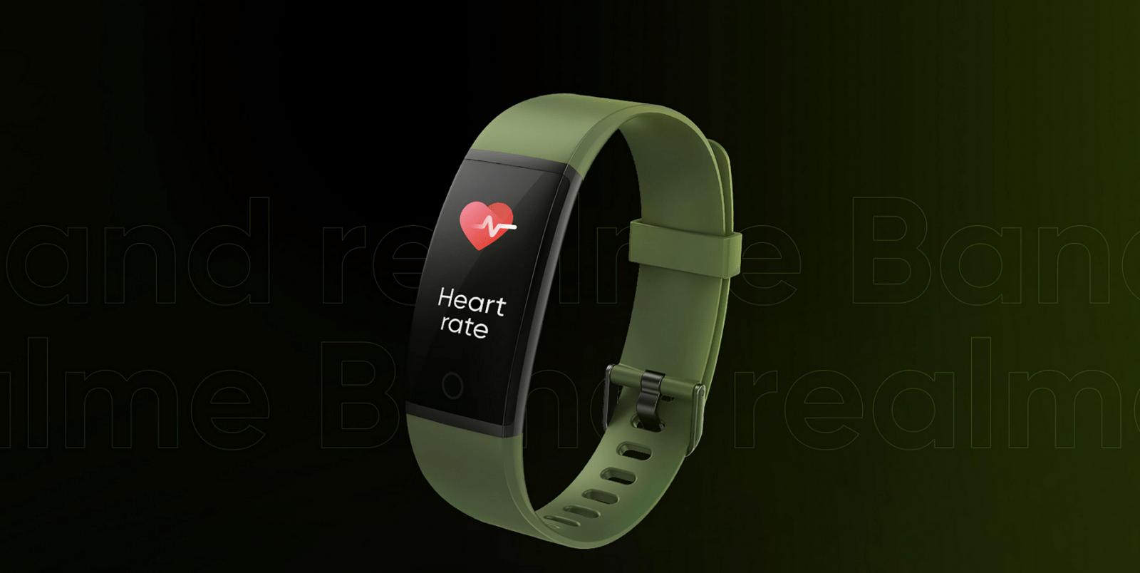 Realme представила свой первый фитнес-браслет Realme Band (screenshot 151)
