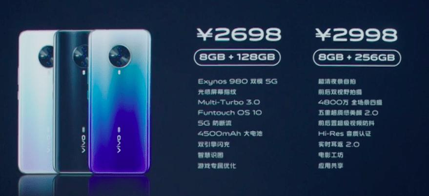 Vivo S6 5G Цена