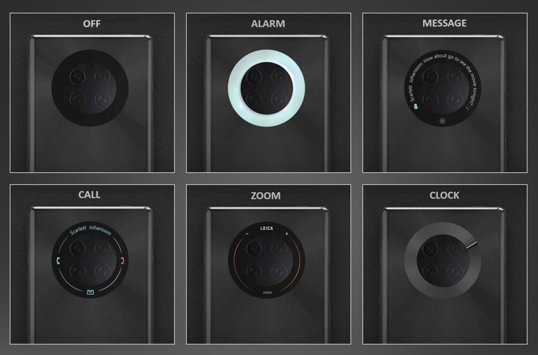 Кольцо камеры Huawei Mate 40 может быть многофункциональным сенсорным экраном (smartphone camera)