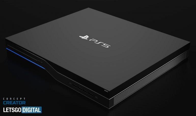 Sony PlayStation 5 показалась на рендерах (sony ps5 770x455 1)