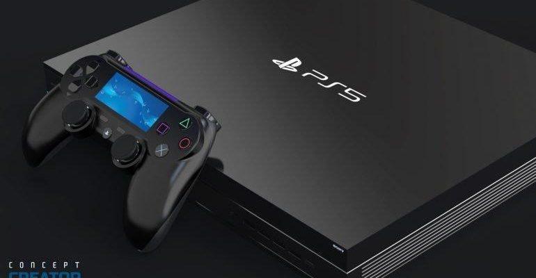 Sony PlayStation 5 показалась на рендерах (sony ps5 game console 770x508 1)