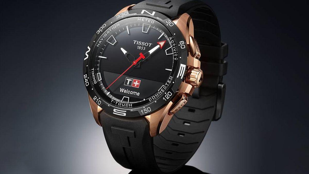 Swatch Tissot T-Touch Connect Солнечный гибрид