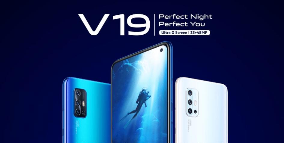 Компания Vivo представила смартфон Vivo V19 (vivo v19 featured)