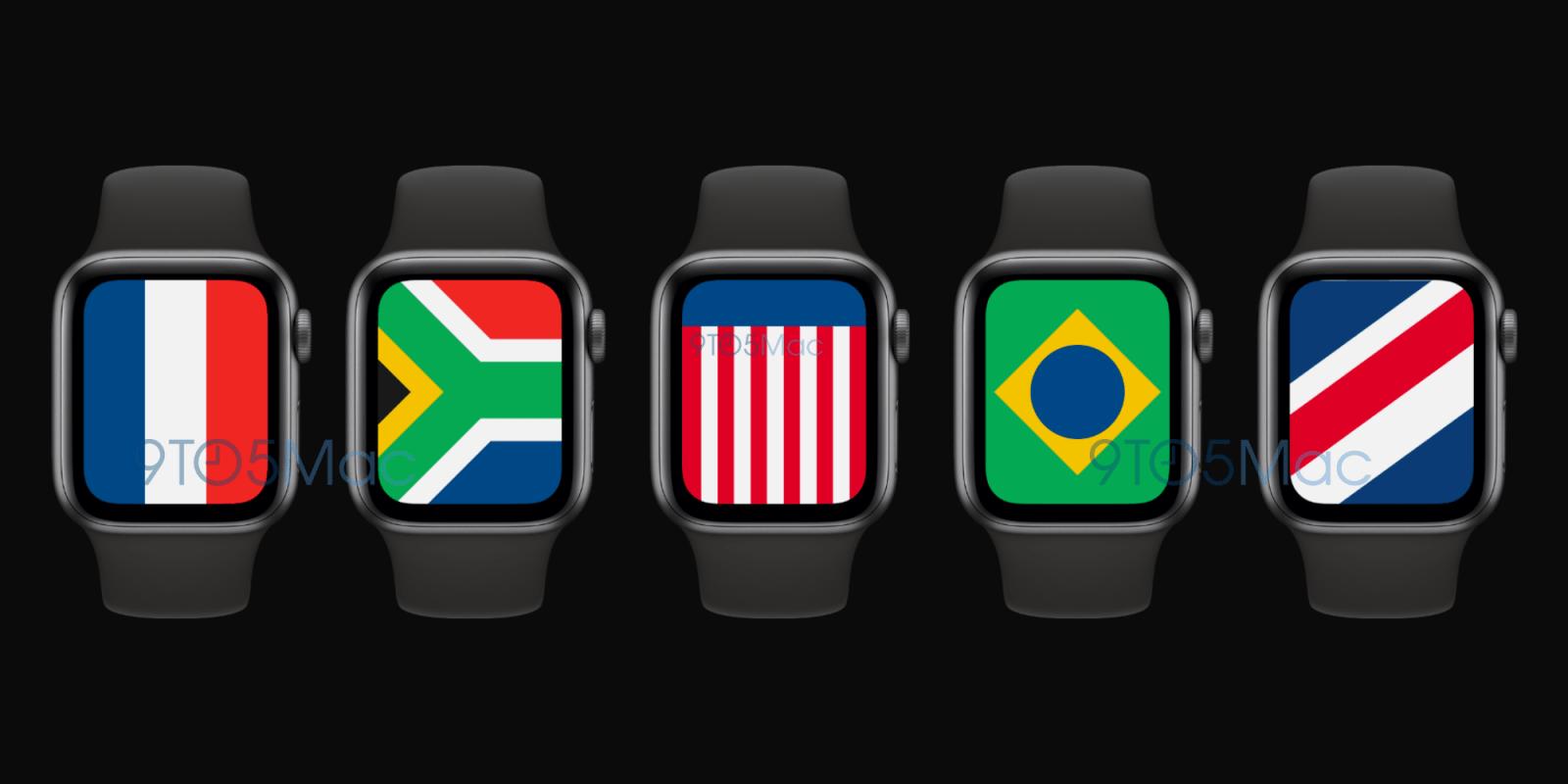 Раскрыты первые подробности о Apple Watch 6 Series (watchos 7 international watch face)