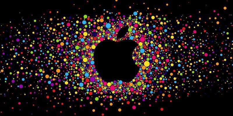 Apple приобретает компанию Voysis AI для улучшения Siri (15 159256 colorful circles with black background and apple logo)