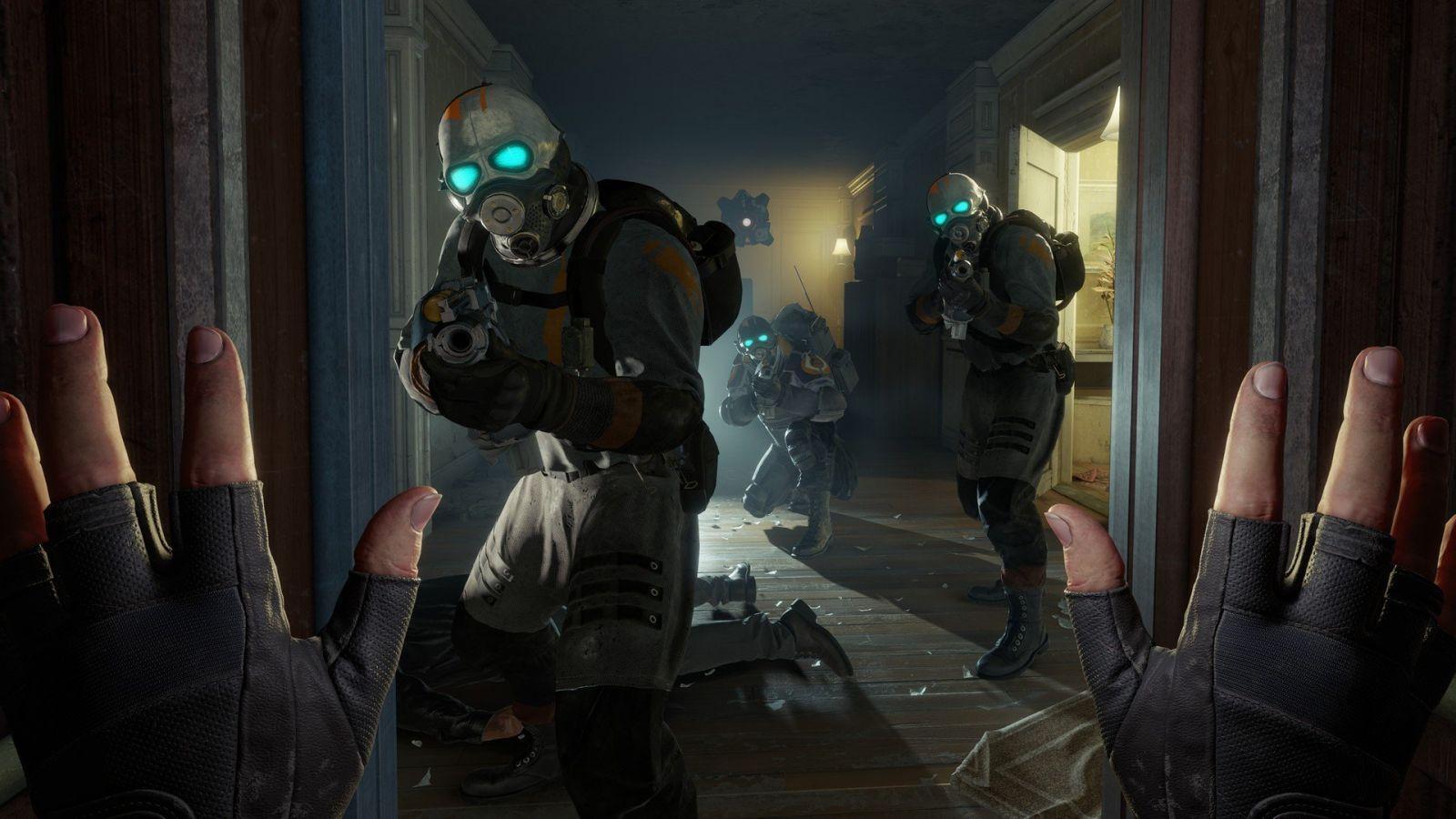 Для Half Life Alyx выпустили мод с которым можно пройти игру без VR-шлема (1574359574 7509)