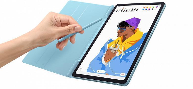 Компания Samsung представила планшет Galaxy Tab S6 Lite (2 1)