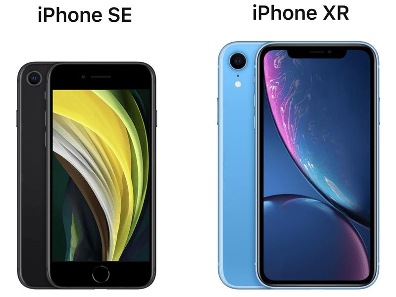 iPhone SE и iPhone XR: сравнение возможностей (2020 iphone se vs iphone)