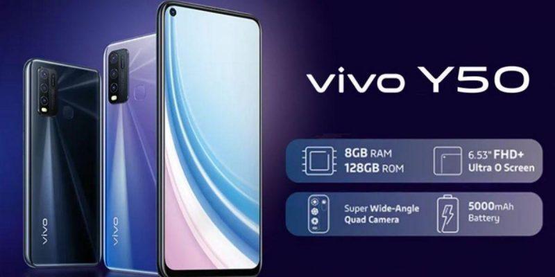 Vivo представила смартфон Vivo Y50 (22 vivo y50)