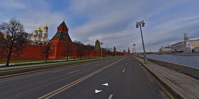 В Яндекс.Картах появились панорамы Москвы во время самоизоляции (a2 2)