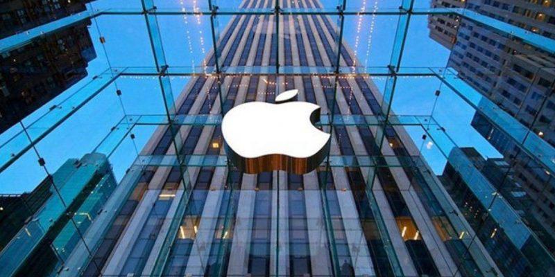 Продажи iPhone могут упасть на 36% во втором квартале 2020 года (apple store logo167955678 1241x698 1)
