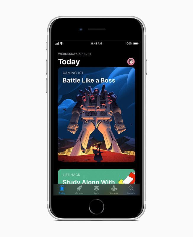 Все подробности о новом Apple iPhone SE (apple new iphone se app store screen 04152020 carousel.jpg.large)