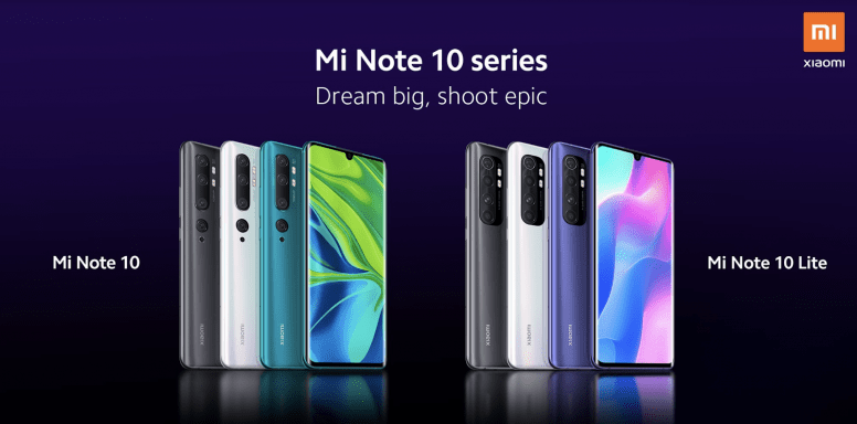 Xiaomi представит смартфон Mi Note 10 Lite уже завтра (d5af01d649)