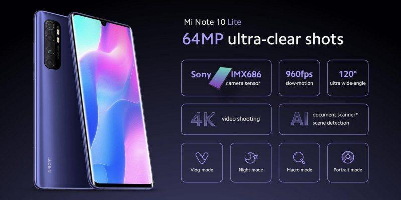 Xiaomi представила смартфон Mi Note 10 Lite (ew2rea8u0aevby1)