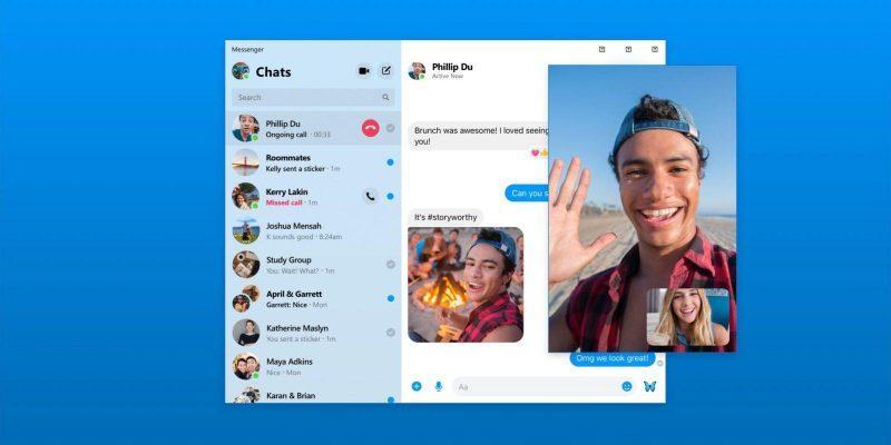 Facebook запускает отдельное приложение Messenger для Mac и Windows (facebook messenger)