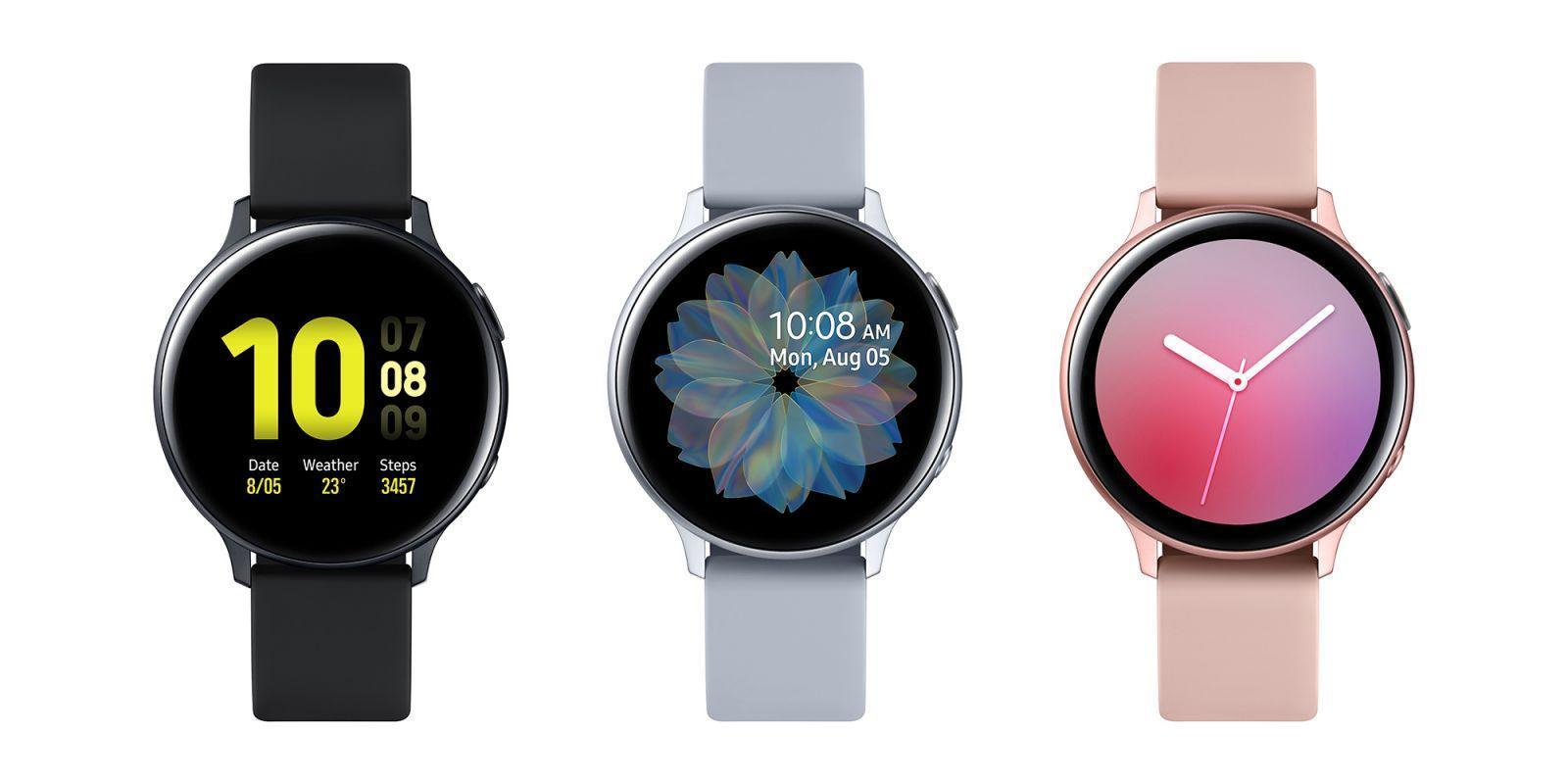 Новые Samsung Galaxy Watch получат 8 Гб памяти (galaxy watch active2 aluminum 40mm large)